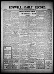 Roswell Daily Record, 11-05-1909 by H. E. M. Bear