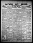 Roswell Daily Record, 11-08-1909 by H. E. M. Bear
