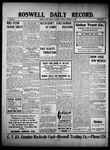 Roswell Daily Record, 11-13-1909 by H. E. M. Bear
