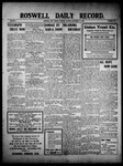 Roswell Daily Record, 11-16-1909 by H. E. M. Bear