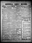 Roswell Daily Record, 11-17-1909 by H. E. M. Bear