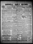 Roswell Daily Record, 11-18-1909 by H. E. M. Bear
