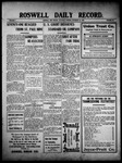 Roswell Daily Record, 11-20-1909 by H. E. M. Bear