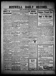 Roswell Daily Record, 11-23-1909 by H. E. M. Bear