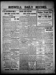 Roswell Daily Record, 11-24-1909 by H. E. M. Bear