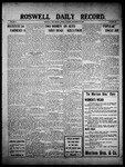 Roswell Daily Record, 11-26-1909 by H. E. M. Bear