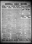 Roswell Daily Record, 11-27-1909 by H. E. M. Bear