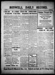 Roswell Daily Record, 11-30-1909 by H. E. M. Bear