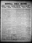 Roswell Daily Record, 12-01-1909 by H. E. M. Bear