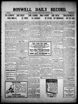 Roswell Daily Record, 12-03-1909 by H. E. M. Bear