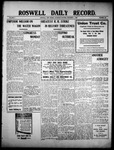 Roswell Daily Record, 12-04-1909 by H. E. M. Bear