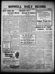 Roswell Daily Record, 12-07-1909 by H. E. M. Bear