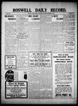 Roswell Daily Record, 12-08-1909 by H. E. M. Bear