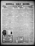 Roswell Daily Record, 12-10-1909 by H. E. M. Bear