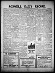 Roswell Daily Record, 12-15-1909 by H. E. M. Bear