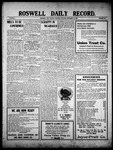 Roswell Daily Record, 12-16-1909 by H. E. M. Bear