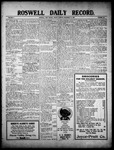 Roswell Daily Record, 12-17-1909 by H. E. M. Bear