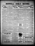 Roswell Daily Record, 12-20-1909 by H. E. M. Bear