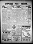 Roswell Daily Record, 12-22-1909 by H. E. M. Bear
