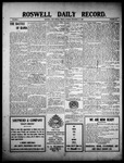 Roswell Daily Record, 12-24-1909 by H. E. M. Bear