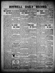 Roswell Daily Record, 12-28-1909 by H. E. M. Bear