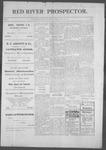 Red River Prospector, 05-09-1901 by Fremont. C. Stevens
