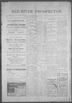 Red River Prospector, 05-23-1901 by Fremont. C. Stevens