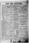San Jon Sentinel, 01-12-1911
