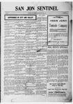 San Jon Sentinel, 06-09-1911