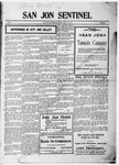 San Jon Sentinel, 07-07-1911