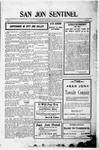 San Jon Sentinel, 08-25-1911