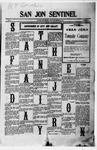 San Jon Sentinel, 09-22-1911