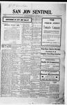 San Jon Sentinel, 09-29-1911