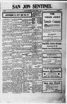 San Jon Sentinel, 10-13-1911