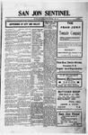San Jon Sentinel, 10-27-1911