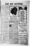 San Jon Sentinel, 12-01-1911