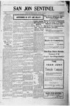 San Jon Sentinel, 01-12-1912