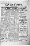 San Jon Sentinel, 03-01-1912