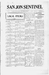 San Jon Sentinel, 10-11-1912