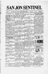 San Jon Sentinel, 11-01-1912