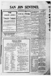 San Jon Sentinel, 11-08-1912