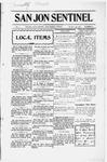 San Jon Sentinel, 12-09-1912