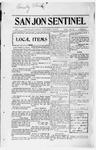 San Jon Sentinel, 01-10-1913