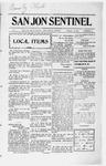 San Jon Sentinel, 02-07-1913