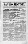San Jon Sentinel, 04-25-1913