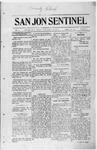 San Jon Sentinel, 08-01-1913