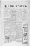 San Jon Sentinel, 08-08-1913