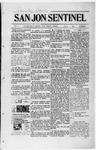 San Jon Sentinel, 09-05-1913