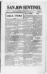 San Jon Sentinel, 01-16-1914