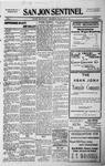 San Jon Sentinel, 04-17-1914 by J. T. White